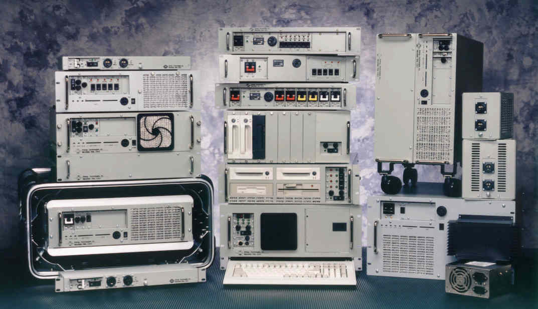 A view of various ETI products.